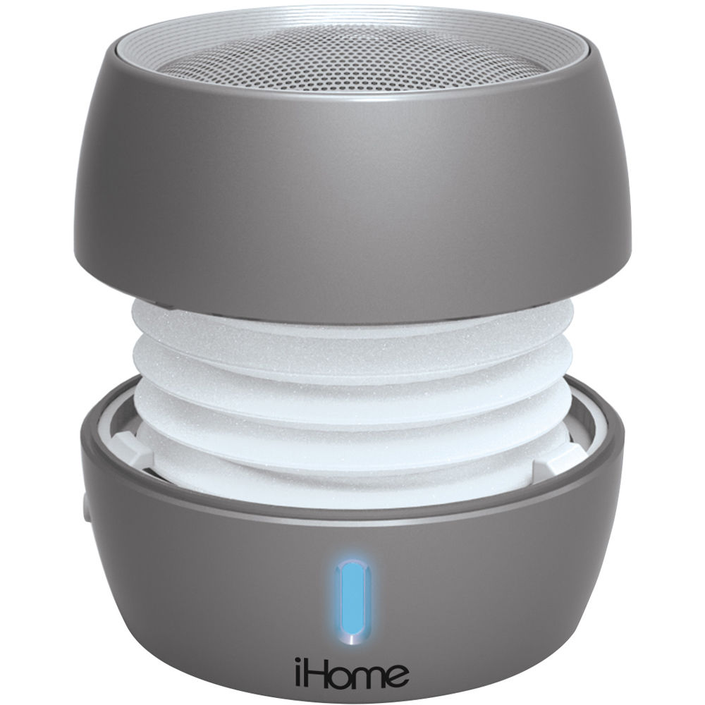 Ihome Ibt73 Bluetooth Mini Speaker Ibt73sc B H Photo Video