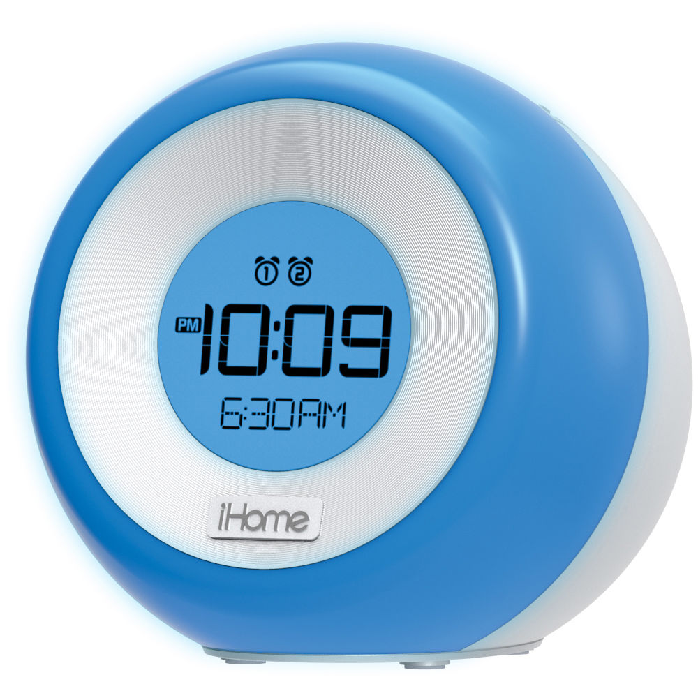 ihome clock radio ihome im29 fm clock radio with usb charging im29sc b amp h photo 12010