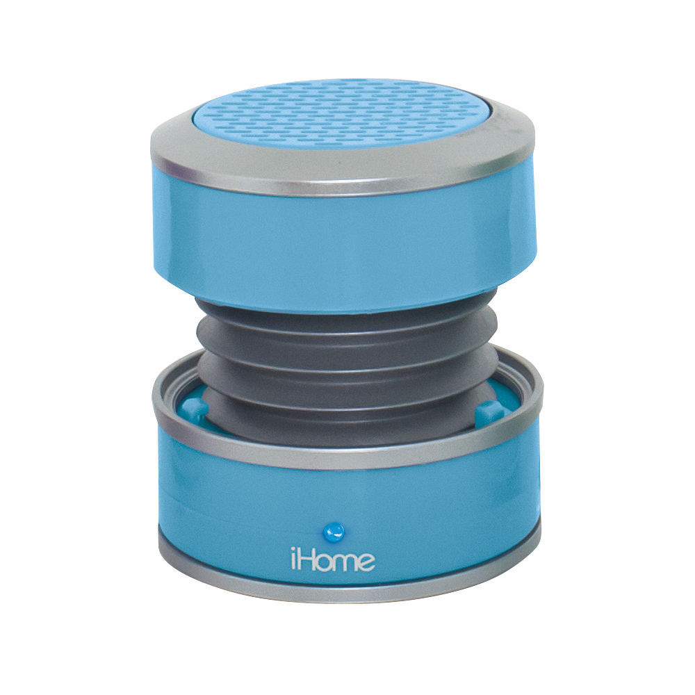 Ihome Ihm60 Rechargeable Mini Speaker Blue Im60lt B H Photo