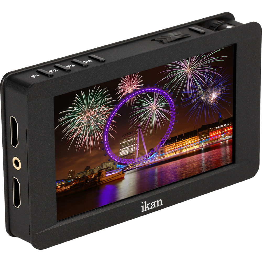 ikan dh5e 5 hdmi on camera monitor dh5e b h photo video. Black Bedroom Furniture Sets. Home Design Ideas