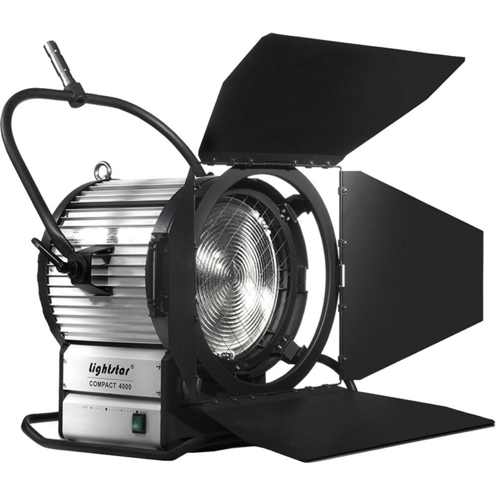 Ikan 4000w Hmi Fresnel Light Kit With Electronic Ballast For Mech Students Choke Circuit Simple Electronics