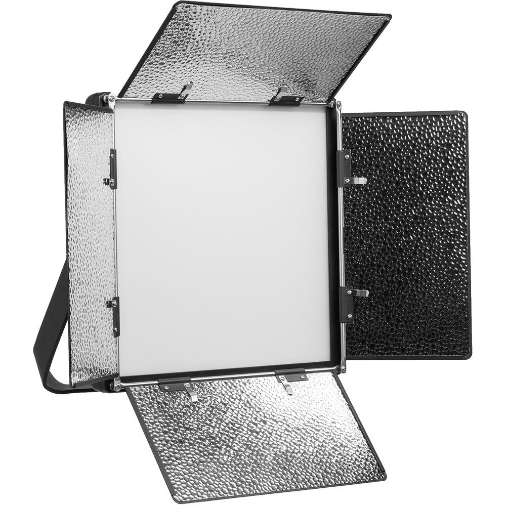 Daylight Balanced Led Studio Light: Ikan Lyra 1 X 1 Daylight Soft Studio And Field LED Light LWX10