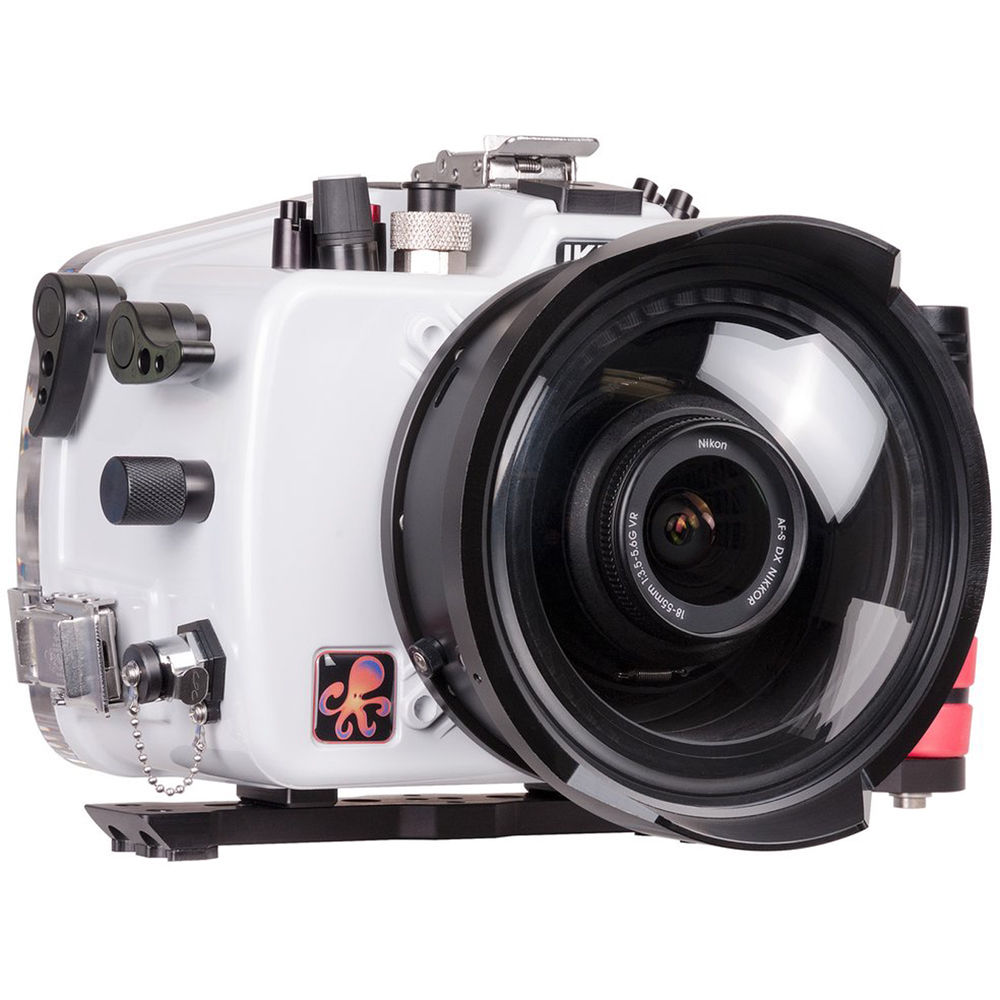 Ikelite 200dl Underwater Housing For Nikon D850 With Dry 71015 Drybox Camera Mirrorless Canon Eos M10 Shown Optional Accessories