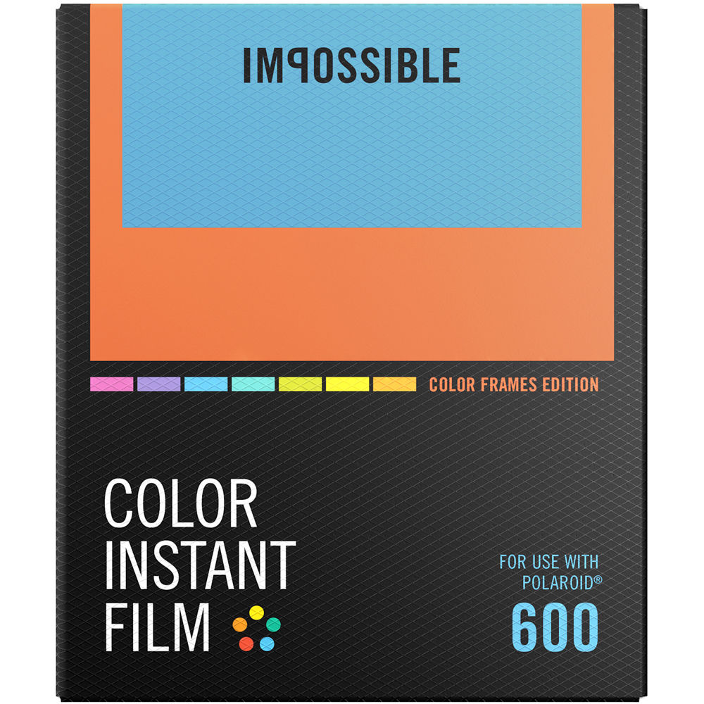 Impossible Color Instant Film for 600 4522 B&H Photo Video