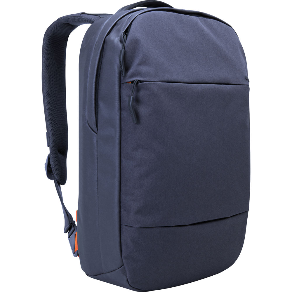 incase designs corp city compact backpack navy cl55453 b h. Black Bedroom Furniture Sets. Home Design Ideas