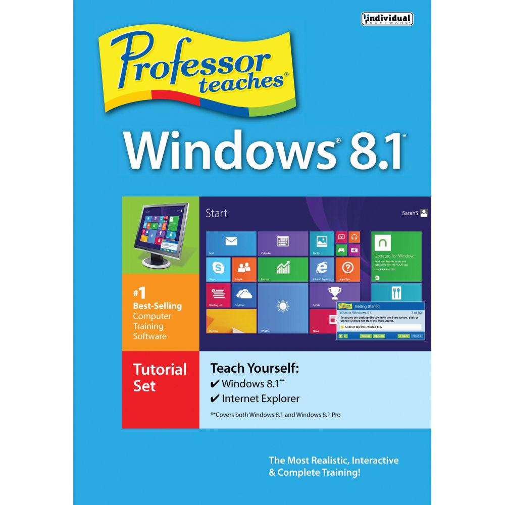 Individual Software: Individual Software Professor Teaches Windows 8.1 PDB-W81 B&H