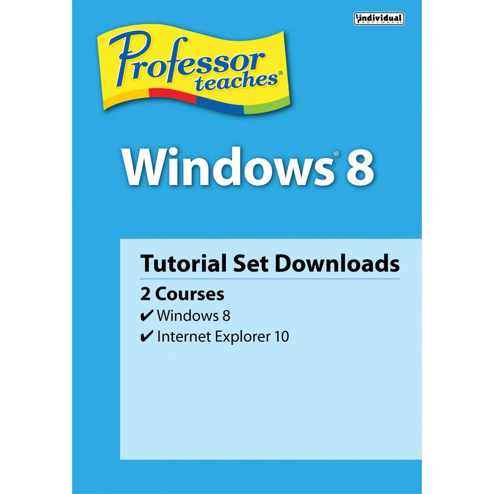 Individual Software: Individual Software Professor Teaches Windows 8 PTWINDOWS8 B&H