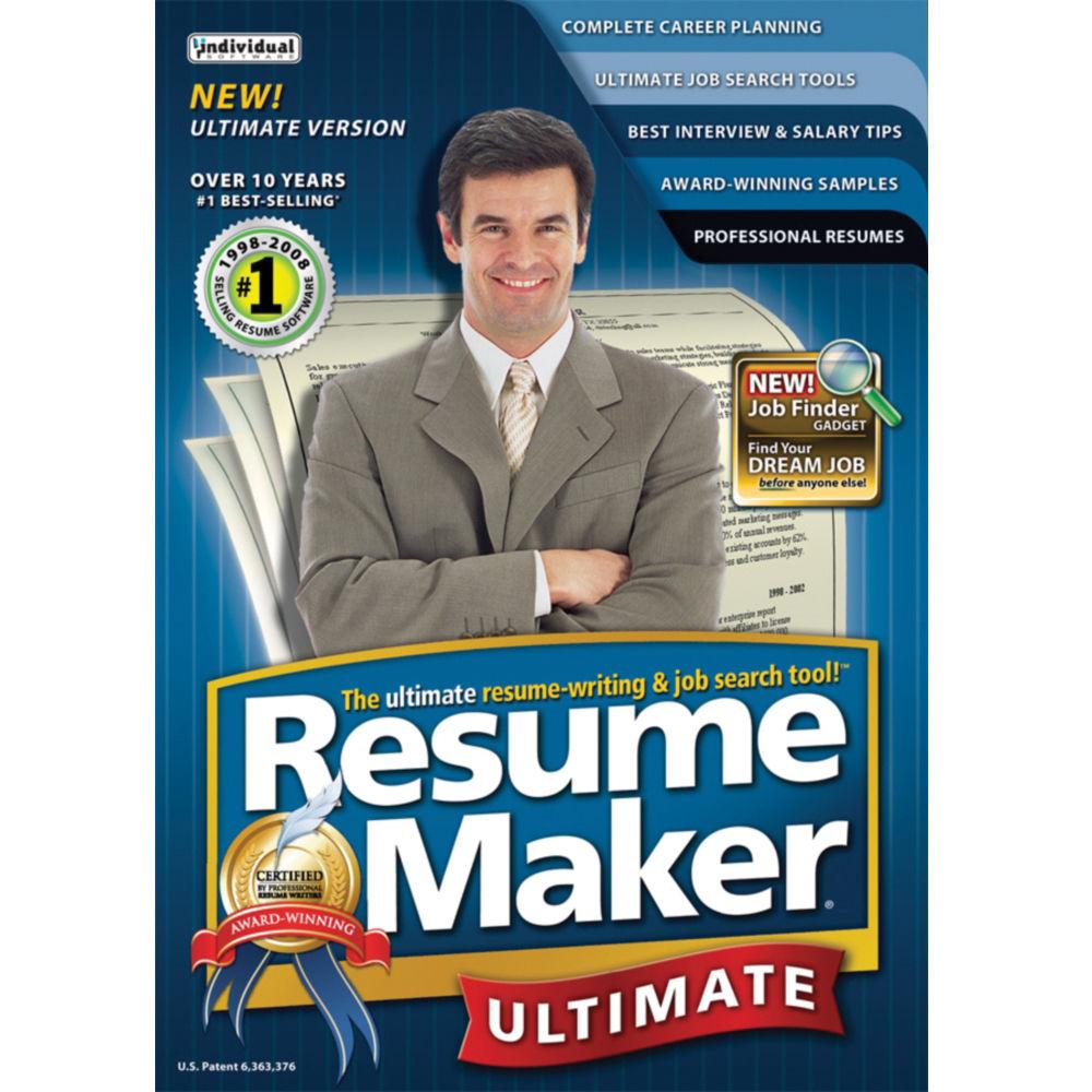 Individual Software Resumemaker Professional RESUMEMAKERPU B&H