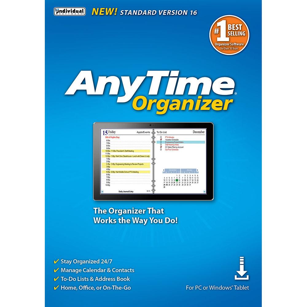 Individual Software: Individual Software Anytime Organizer 16 (Standard) ESD
