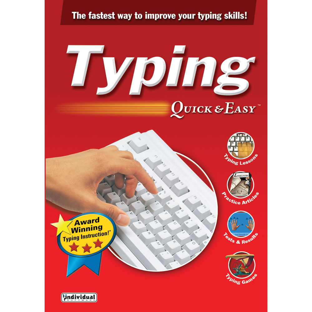 Individual Software: Individual Software Typing Quick And Easy 17 TYPINGQNE17 B&H
