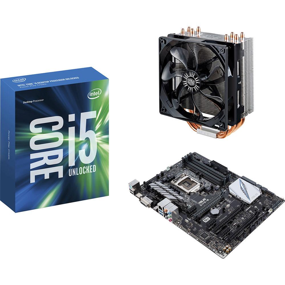 Cpu Cooler I5 Intel Processor Core 6600k 35 Box Socket 1151 Photos