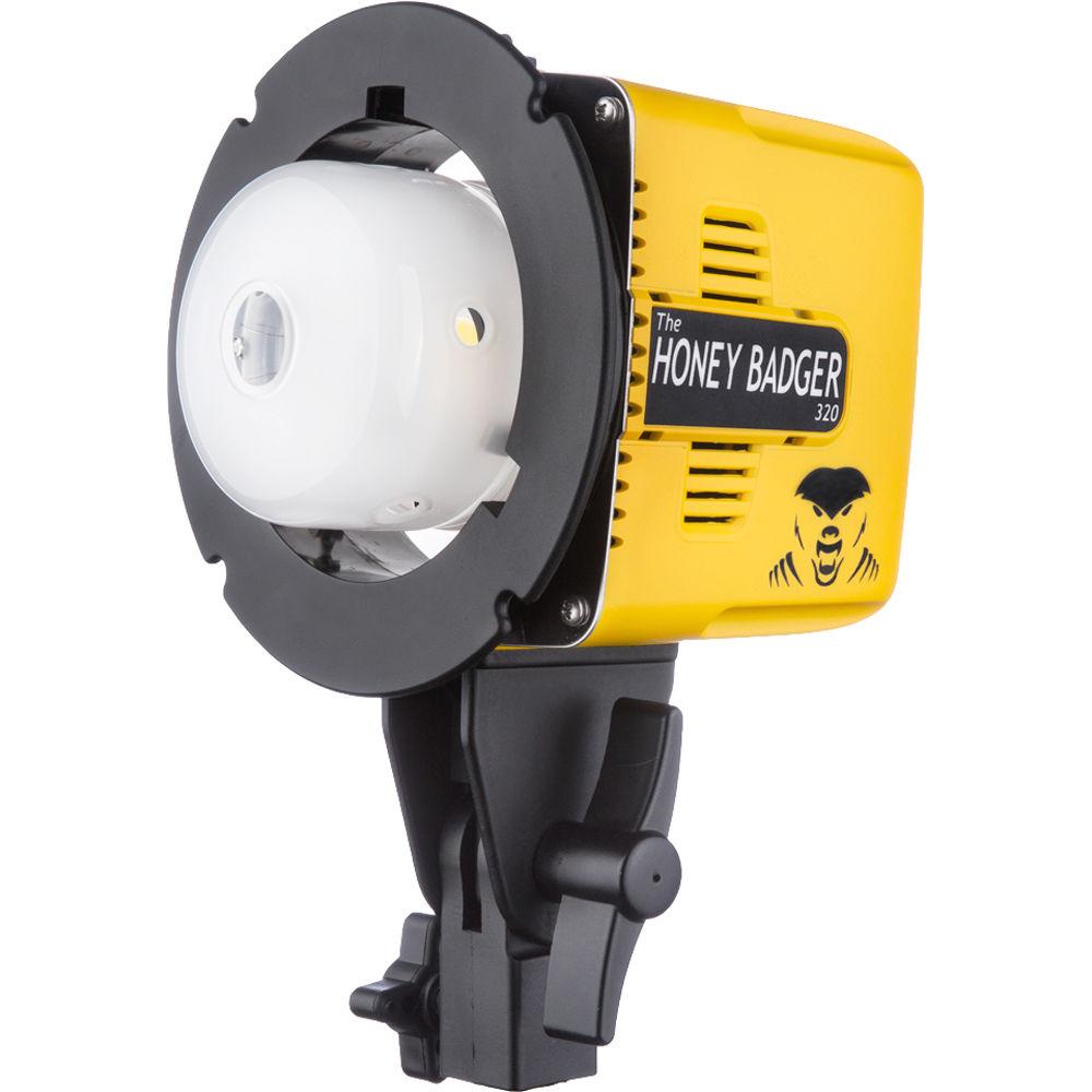 interfit honey badger 320ws compact flash head hb320 b u0026h photo