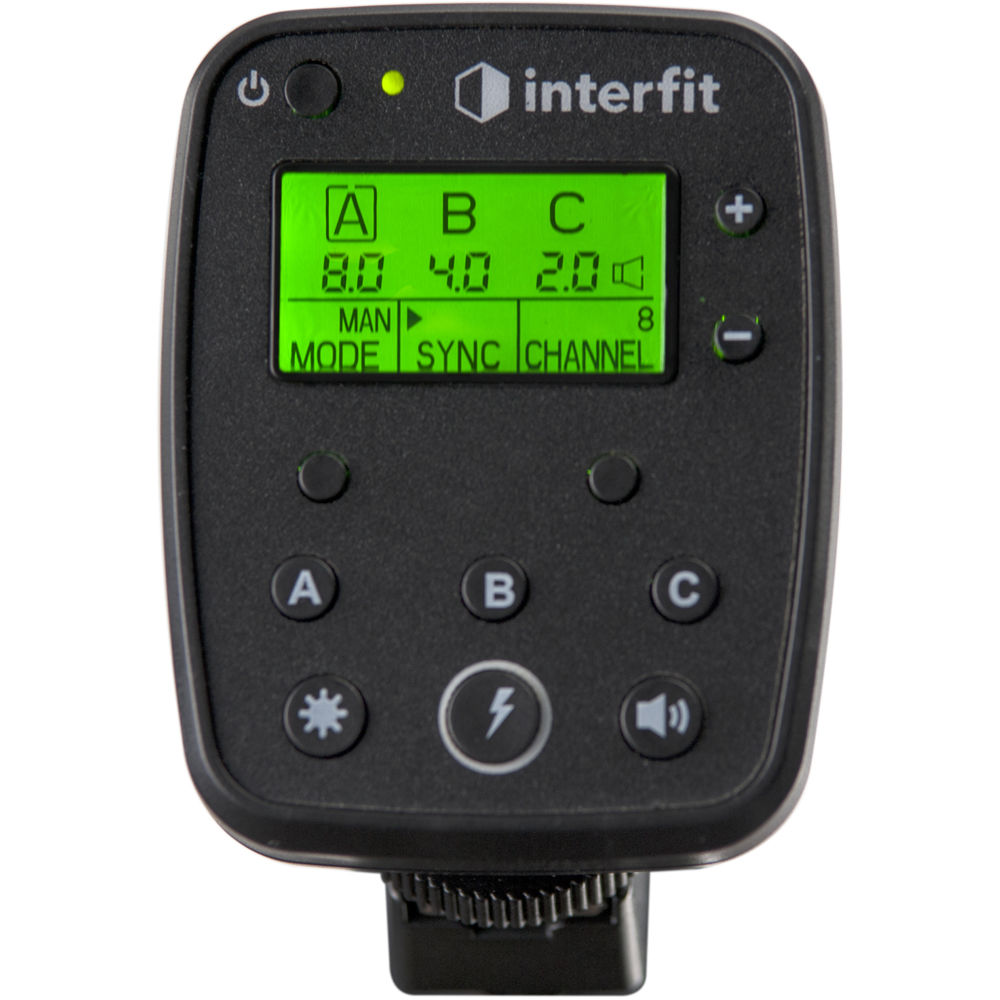 Interfit S1 Ttl Remote For Nikon Intr1n Bh Photo Video Hgf And Thermostat