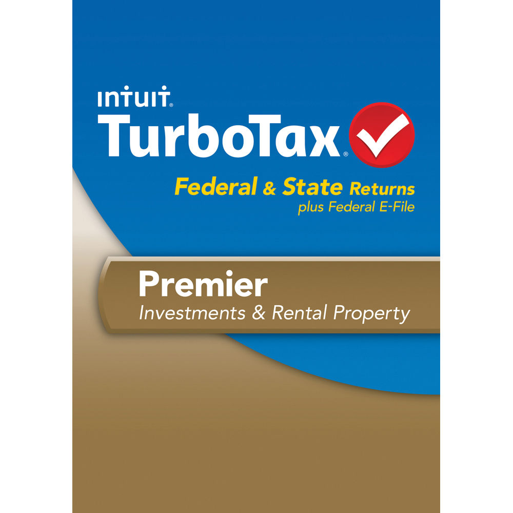 Intuit TurboTax Premier Federal E-File and State 2013 ...