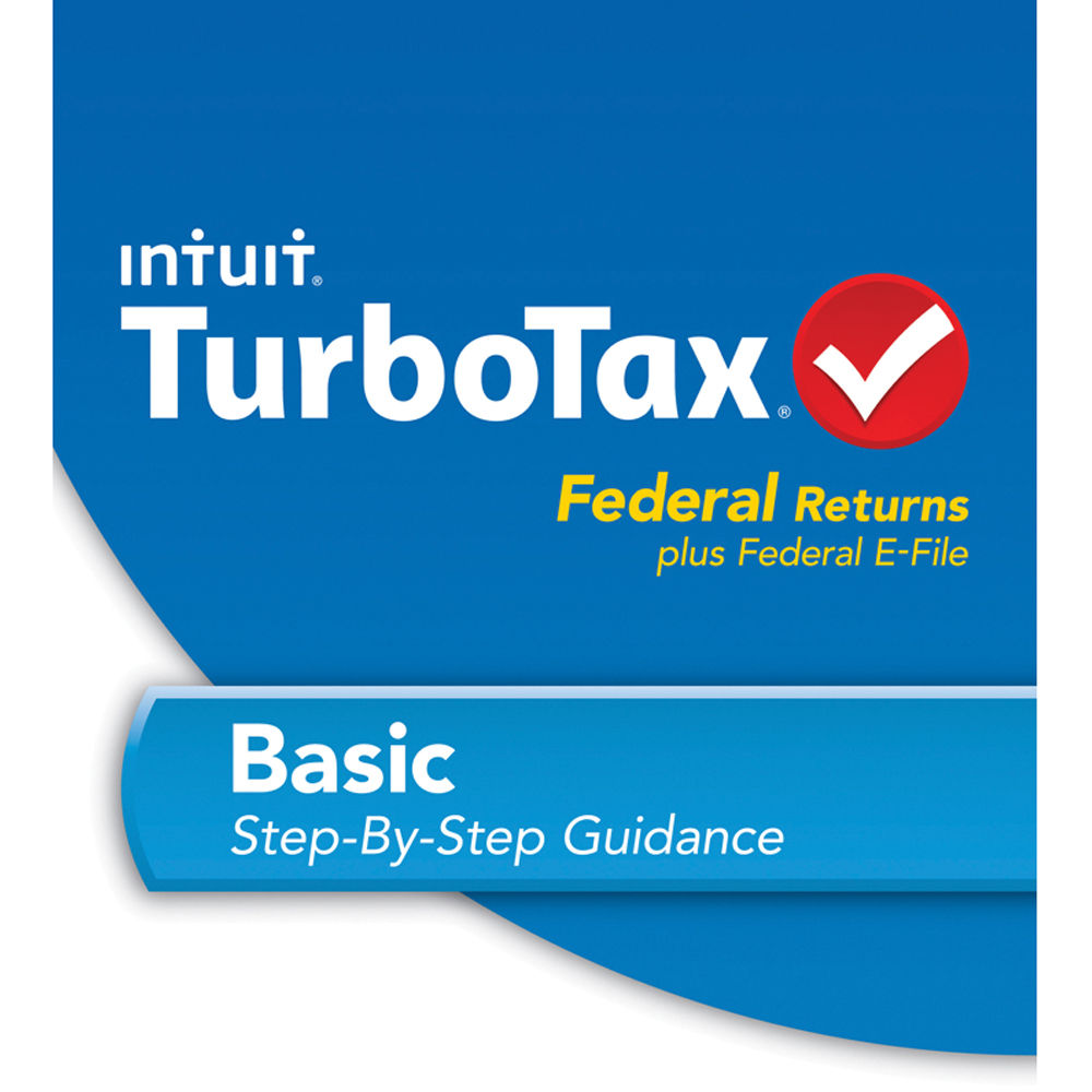 Intuit TurboTax Basic Fed + E-File 2013 For Mac (Download