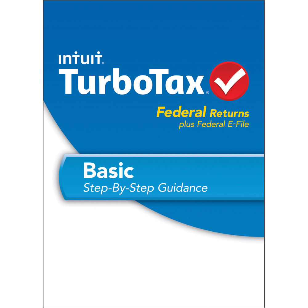 Intuit TurboTax Basic Federal + E-File 2014 (Download, Mac