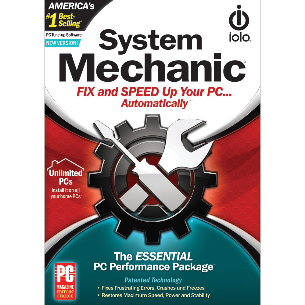 Iolo technologies system mechanic software downloadable