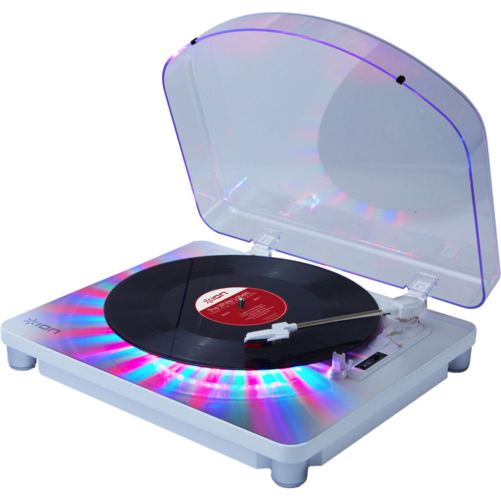 Ion Audio Photon Lp 3 Speed Turntable With Built In Photon Lp