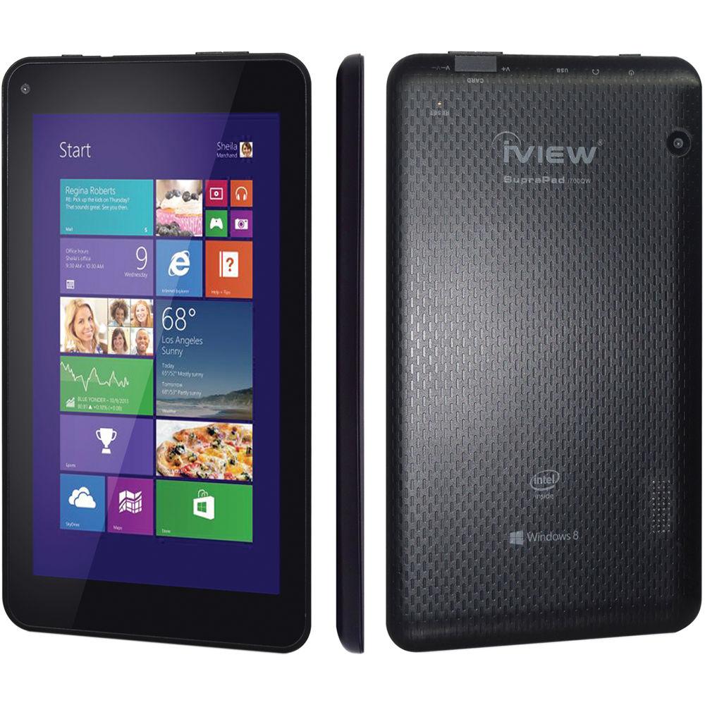 iview 16gb suprapad i 700qw 7 windows tablet i700qw b h rh bhphotovideo com