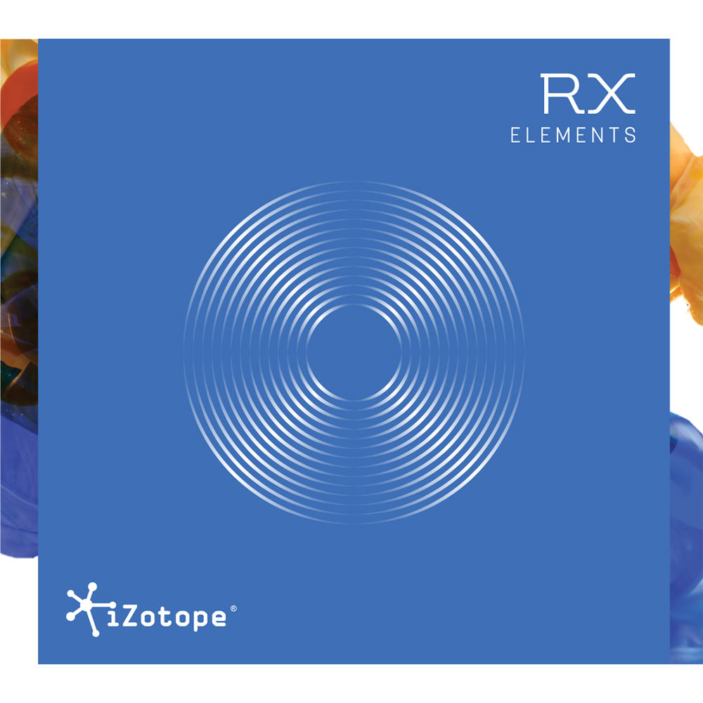 izotope izotope rx elements audio restoration 70 rxeuprxpip. Black Bedroom Furniture Sets. Home Design Ideas