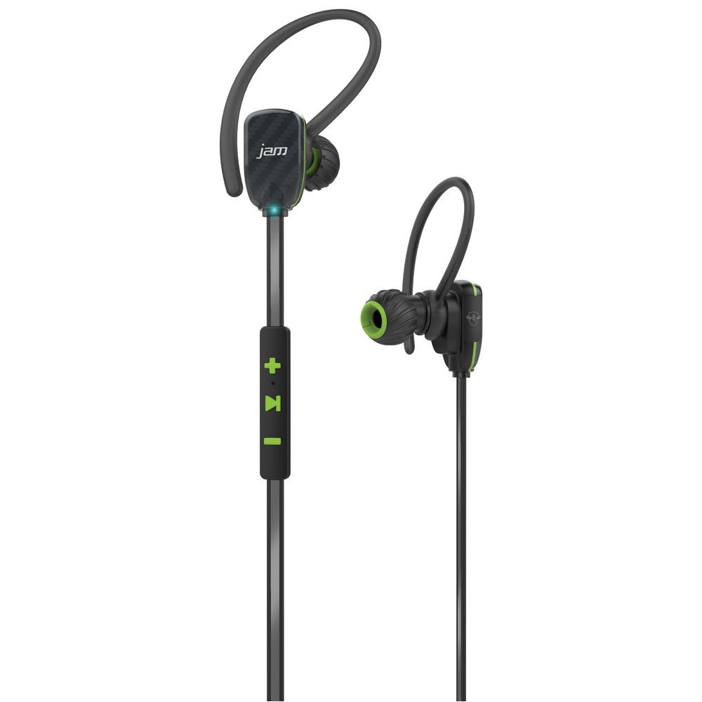 jam transit micro sport wireless earbuds green hx ep510gr b h. Black Bedroom Furniture Sets. Home Design Ideas