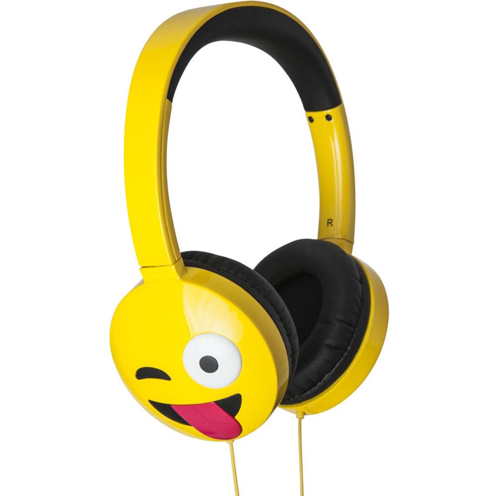 jam HX-HPEM01 Jamoji On-Ear Wired Headphones HX-HPEM01 B&H Photo