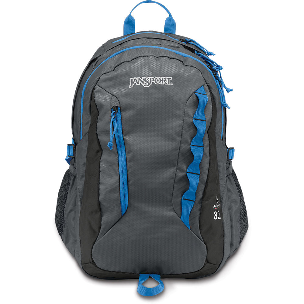 JanSport Agave 32L Backpack (Forge Gray) T14F6XD B&H Photo ...
