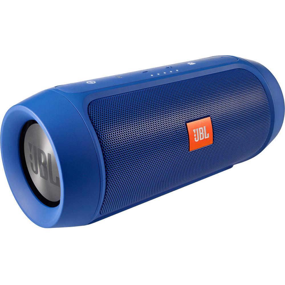 jbl charge 2 portable stereo speaker blue charge2plusblueam. Black Bedroom Furniture Sets. Home Design Ideas