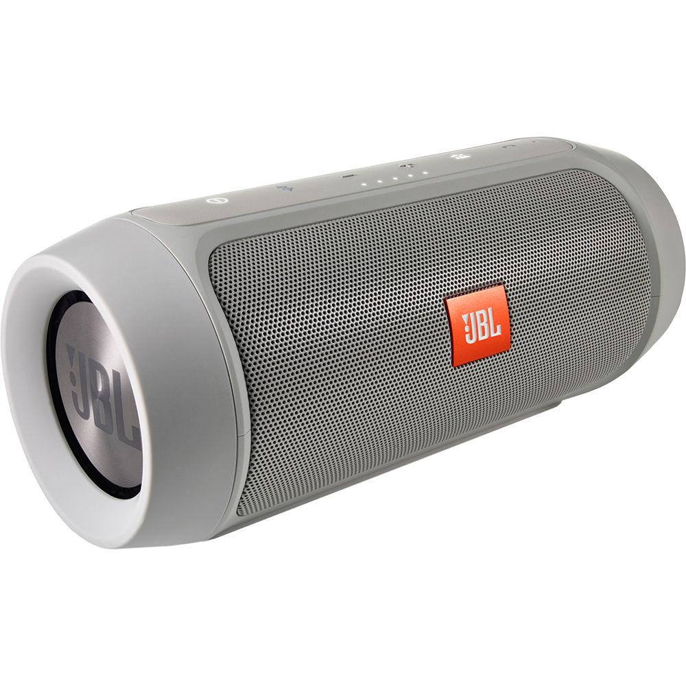 jbl charge 2 portable stereo speaker gray charge2plusgrayam. Black Bedroom Furniture Sets. Home Design Ideas