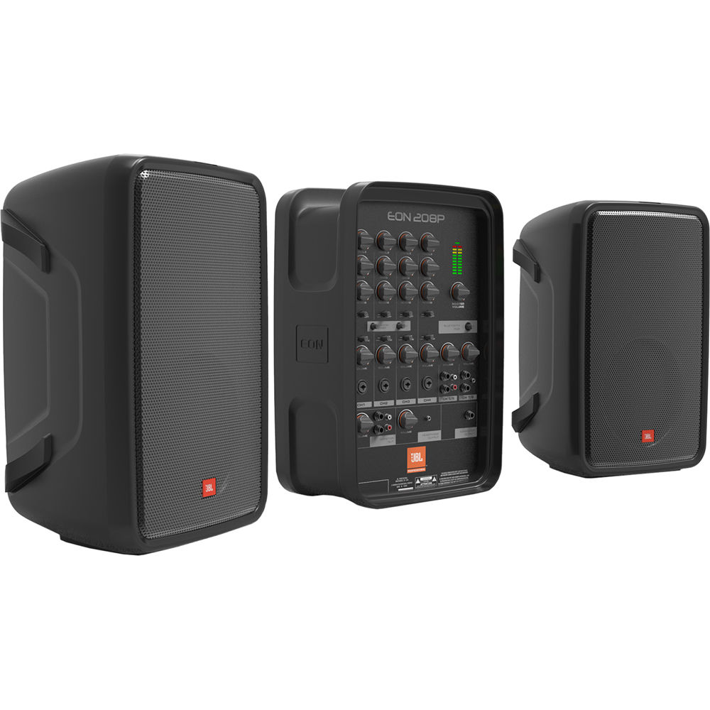 Jbl Eon208p Personal Pa System With 8 Channel Mixer And