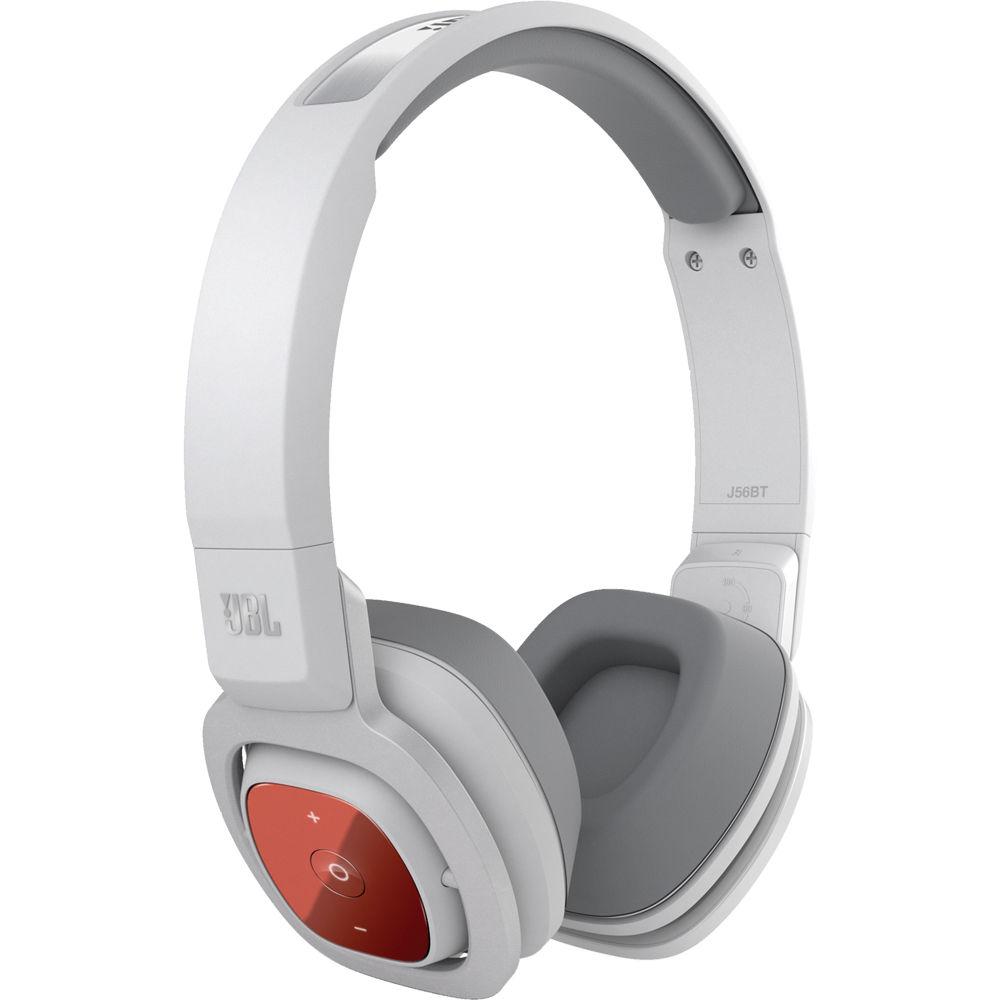 JBL J56BT Bluetooth On-Ear Headphones (White) J56BT WHT B H 4f5bb92a931a2