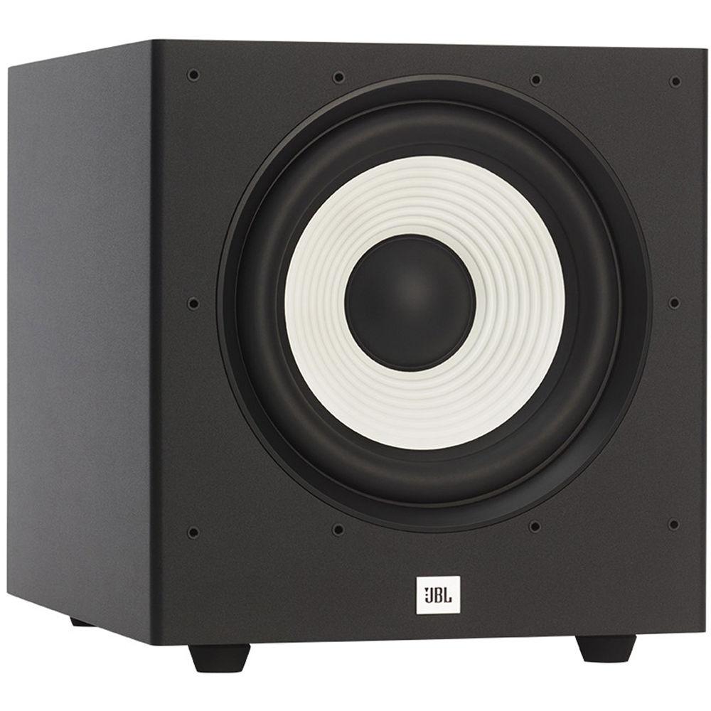 jbl stage a100p 10 300w subwoofer black jbla100pblkam. Black Bedroom Furniture Sets. Home Design Ideas