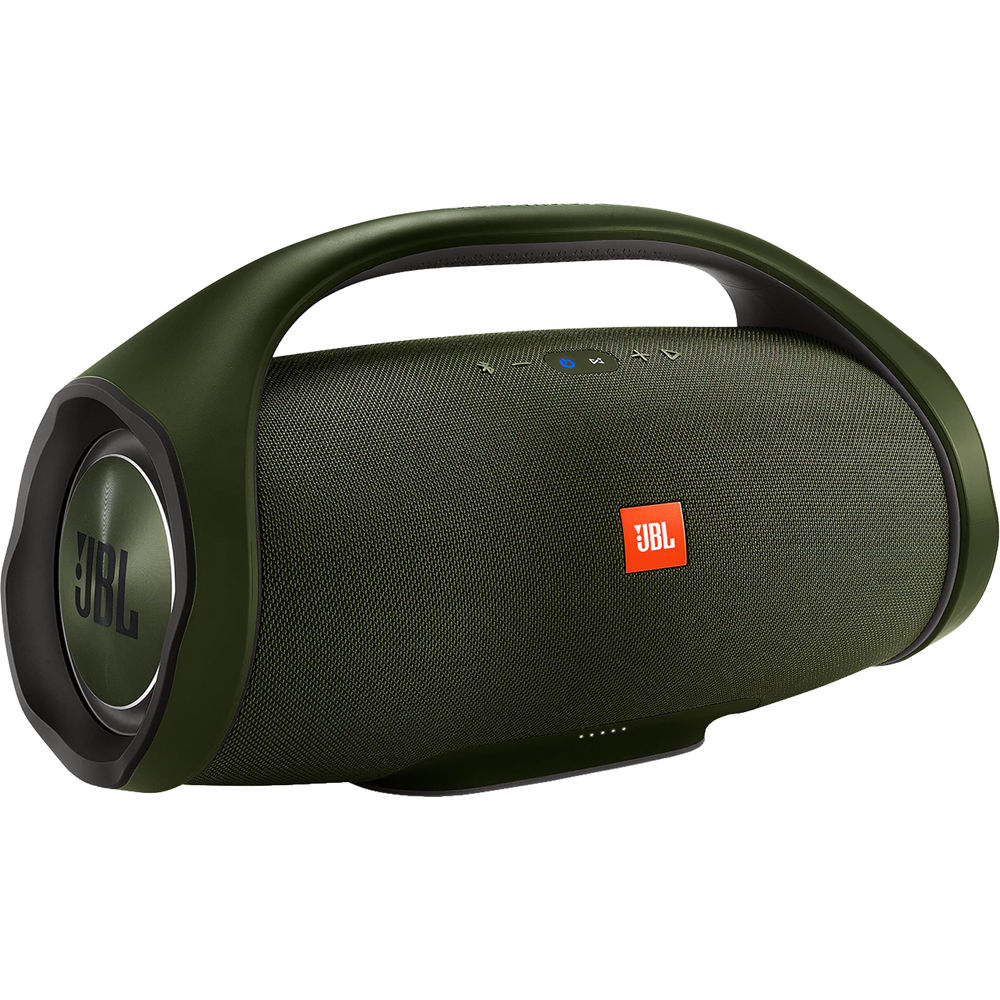 jbl boombox portable bluetooth speaker jblboomboxgrnam b h. Black Bedroom Furniture Sets. Home Design Ideas