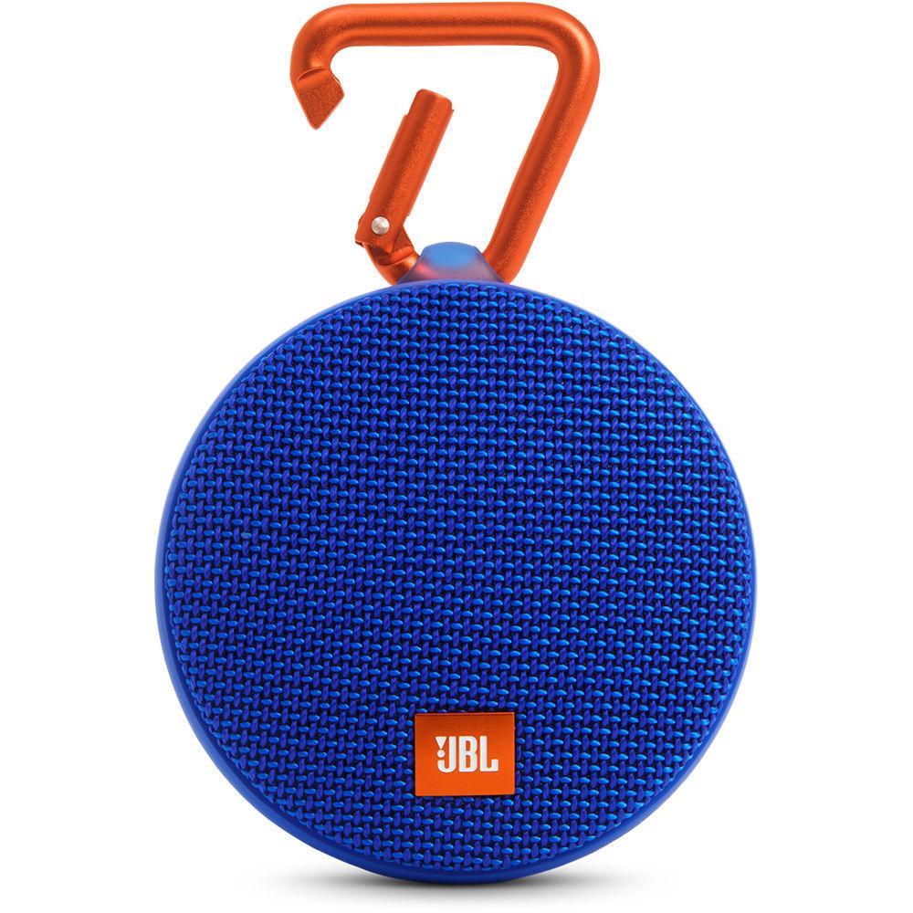 Jbl Clip 2 Speaker Blue Jblclip2Bluam Bh Photo Video-5705