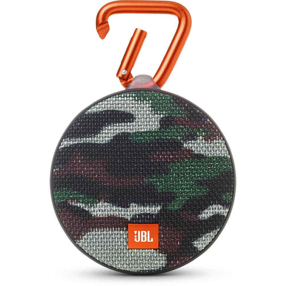 jbl clip 2 speaker camouflage jblclip2squad b h photo video. Black Bedroom Furniture Sets. Home Design Ideas