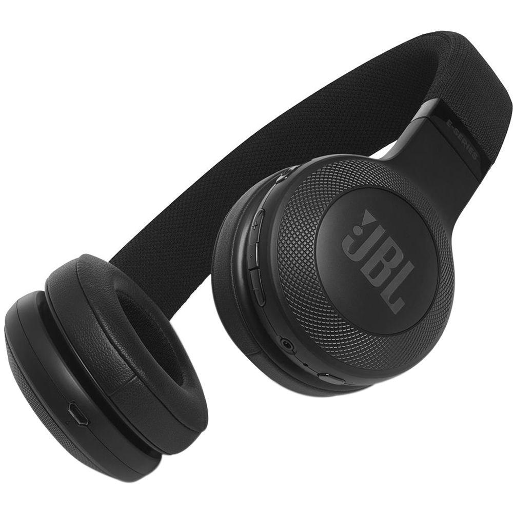 Jbl E45bt Bluetooth On Ear Headphones Black Jble45btblk Bh