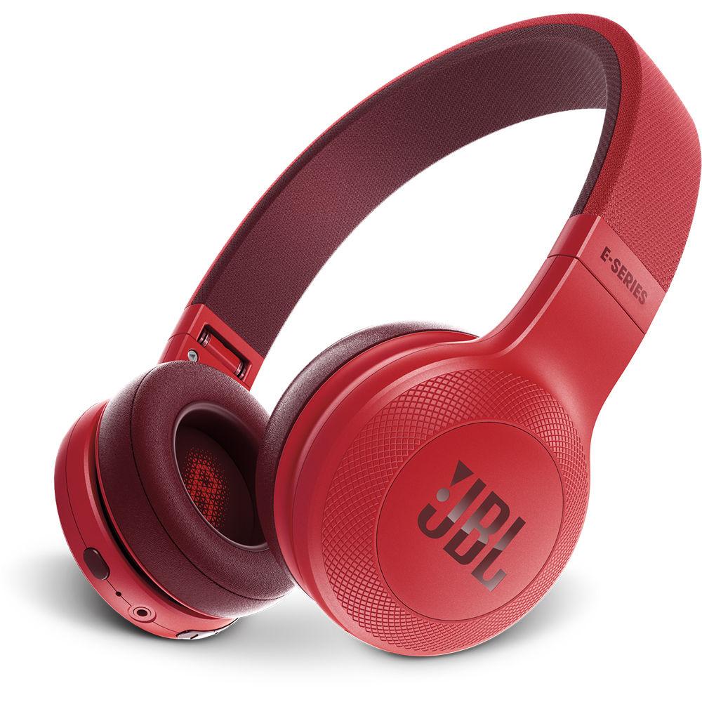 JBL E45BT Bluetooth On-Ear Headphones (Red) JBLE45BTRED B&H