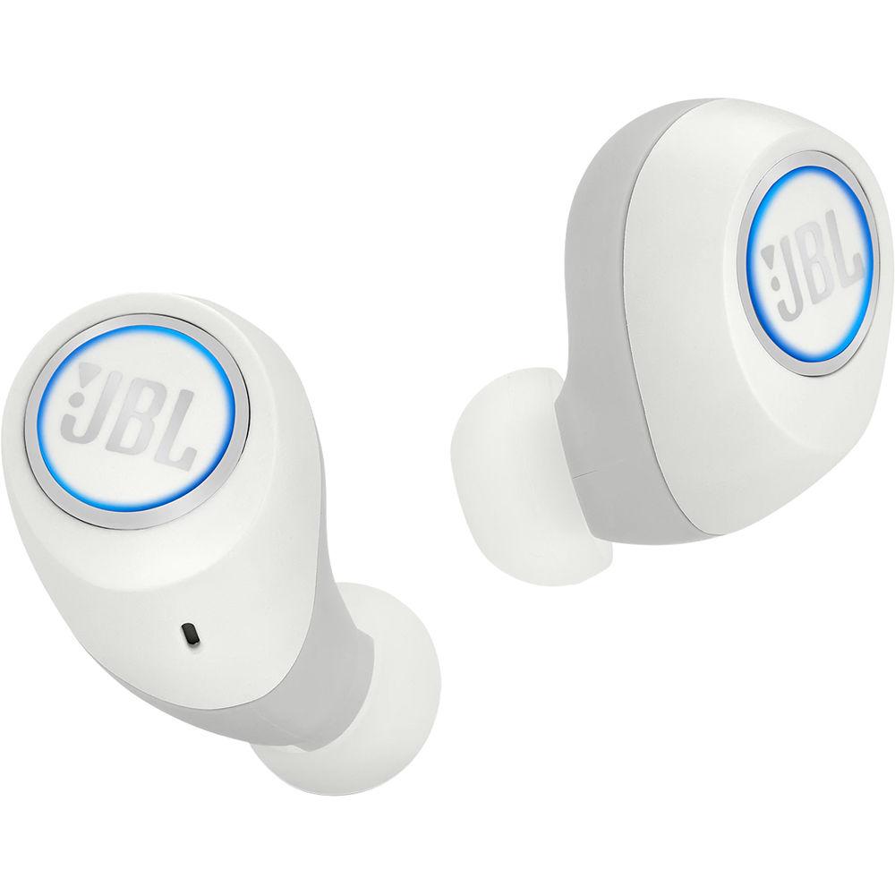 Jbl Free X Bluetooth Wireless In Ear Headphones Jblfreexwhtbtam