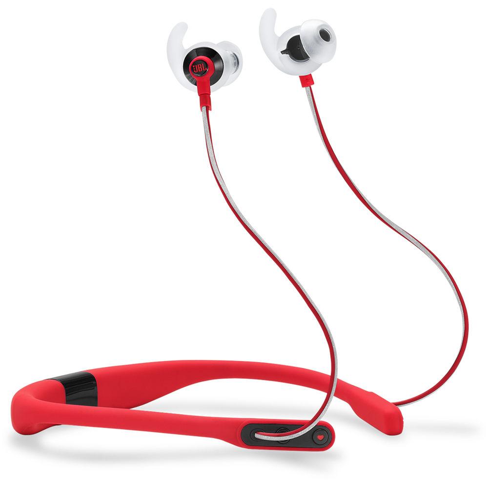 jbl reflect fit heart rate wireless headphones red jblreffitre. Black Bedroom Furniture Sets. Home Design Ideas