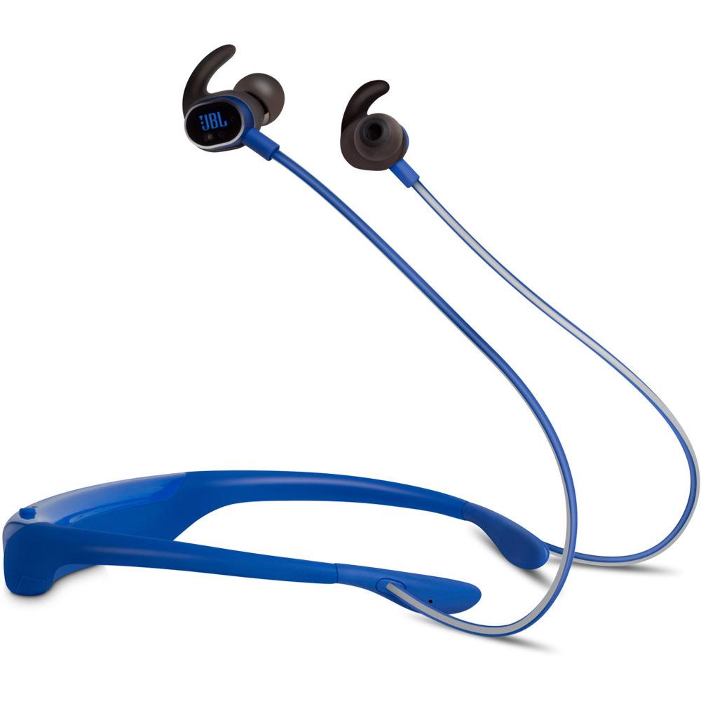 jbl in ear bluetooth headphones. jbl reflect response touch-control bluetooth in-ear headphones (blue) jbl in ear c