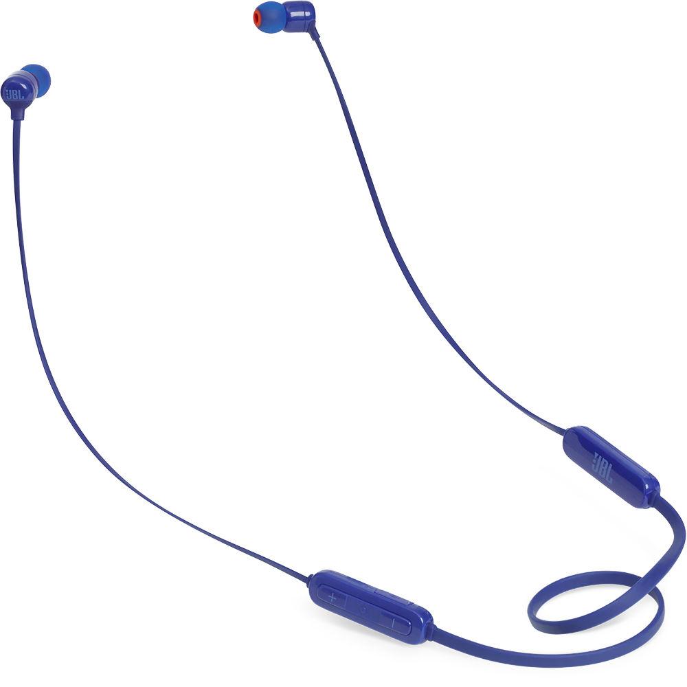 50a357528b5 JBL T110BT Wireless In-Ear Headphones (Blue) JBLT110BTBLUAM B&H