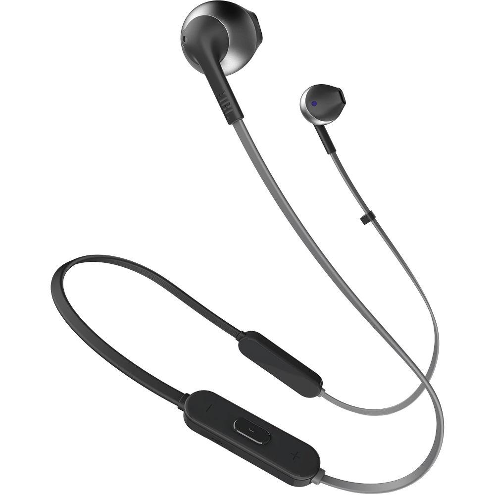Jbl Tune 205bt Wireless Bluetooth Earbud Jblt205btblkam B H