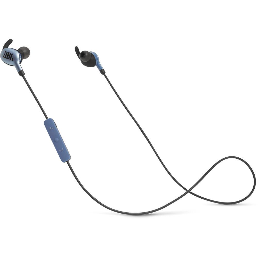 jbl everest 110 wireless earbuds steel blue jblv110btblu b h. Black Bedroom Furniture Sets. Home Design Ideas