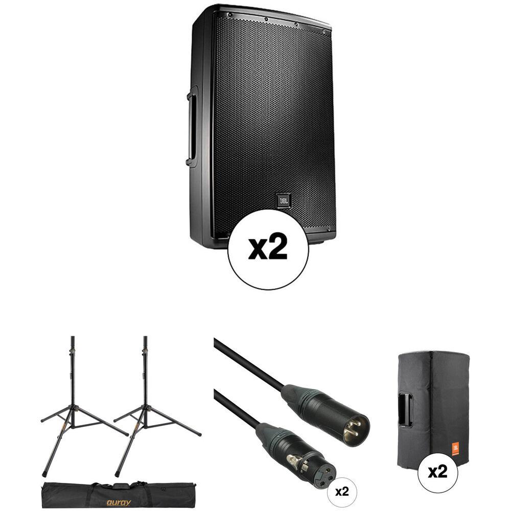 jbl jbl eon powered 15 two way system with pa speaker pro. Black Bedroom Furniture Sets. Home Design Ideas