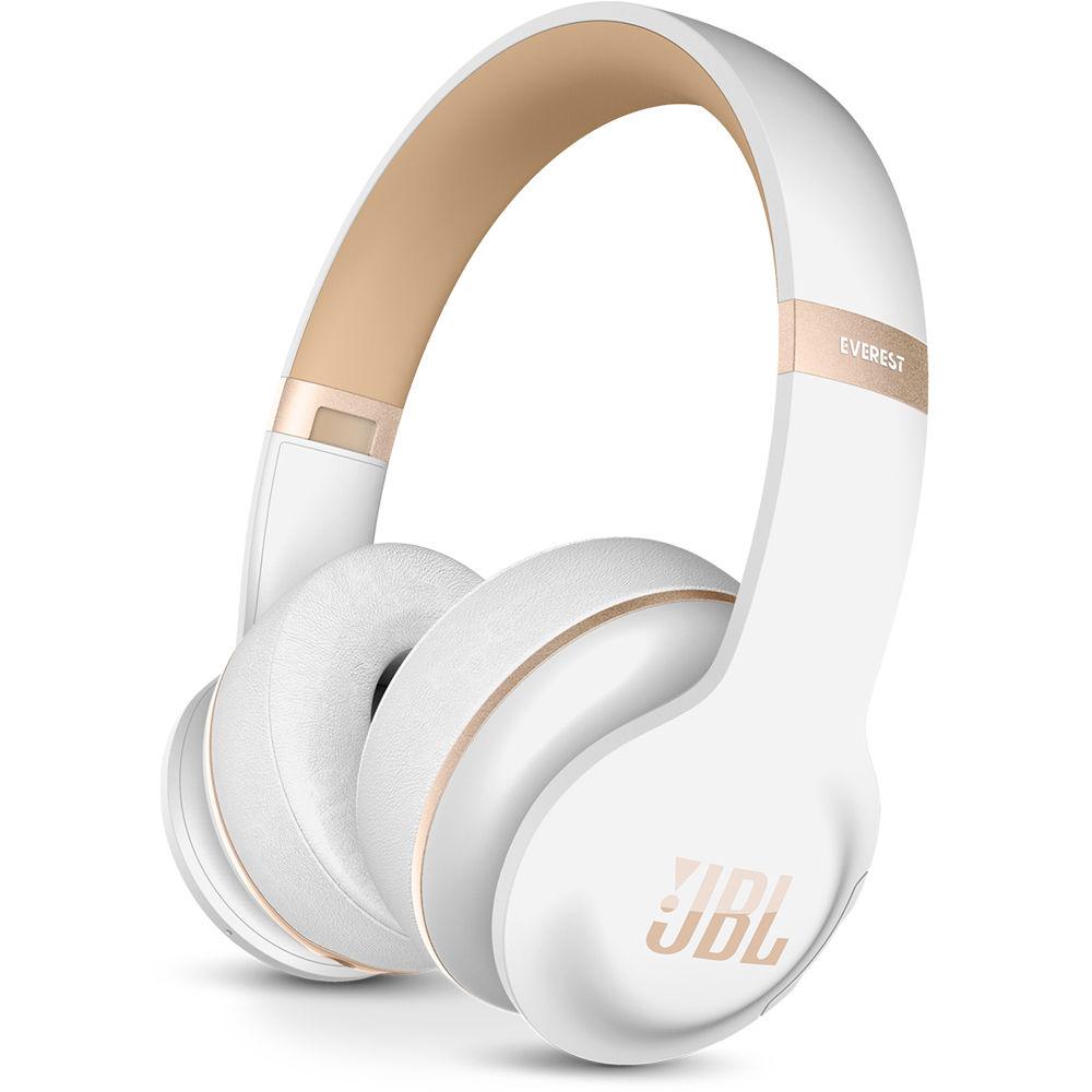 jbl headphones wireless. jbl everest elite 300 on-ear wireless headphones (white) jbl