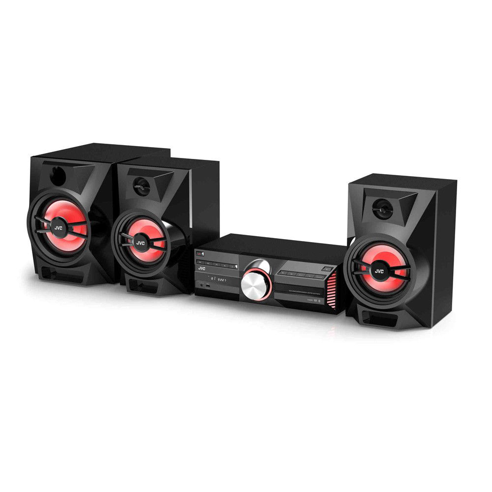 JVC MX-N536B 2.1-Channel Region-Free DVD Home Theater System
