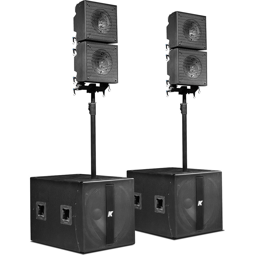 K-Array KRX402 Powered System with Detachable Mid-High KRX402