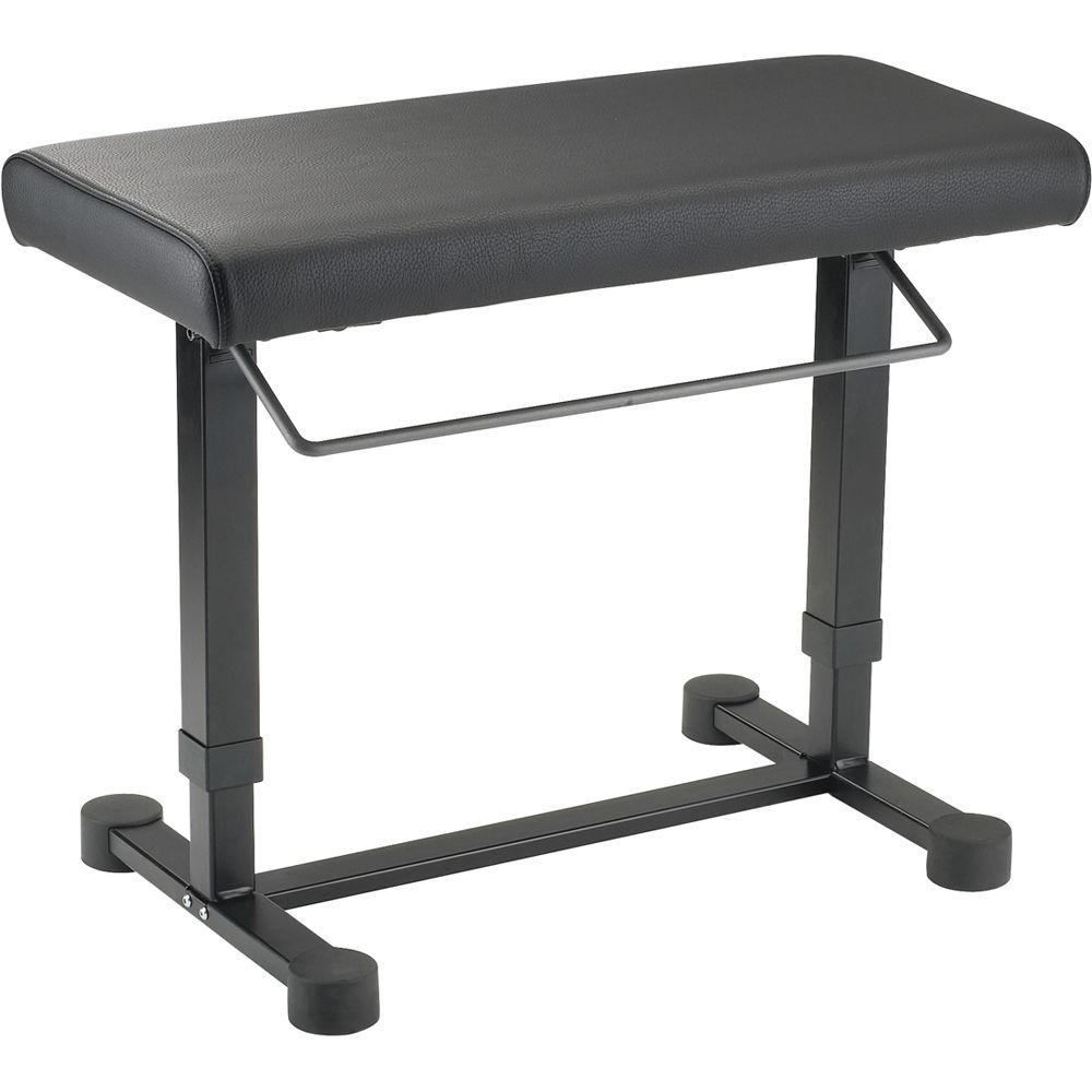 K Amp M 14080 Uplift Piano Bench 14080 000 55 B Amp H Photo Video