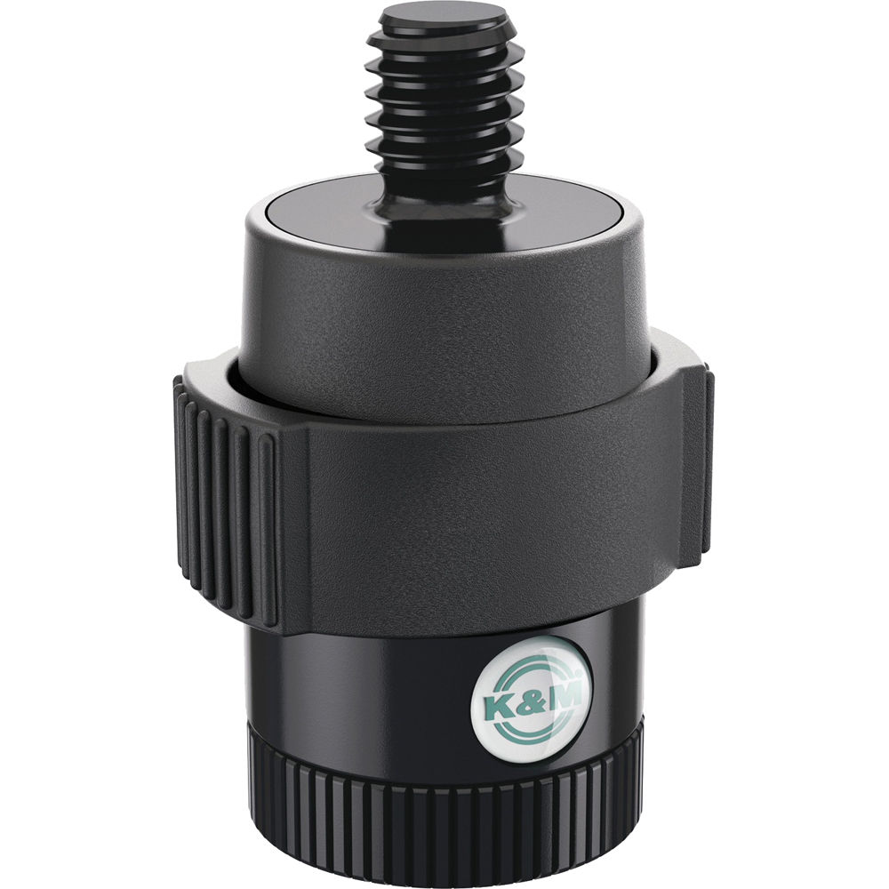 K m quick release adapter for microphones  b h