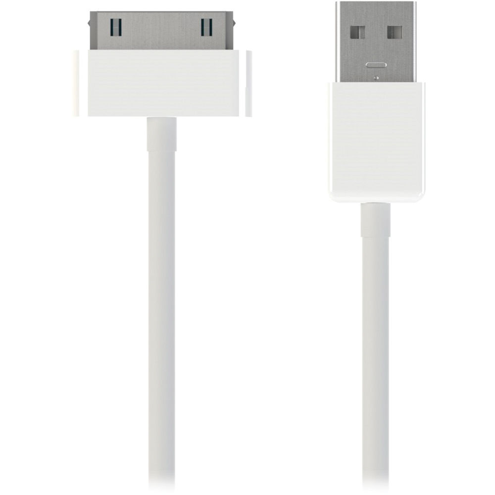 apple 30 pin to usb cable. kanex 30-pin to usb charge and sync cable for ipod/iphone/ipad apple 30 pin usb